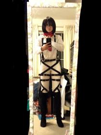 Mikasa Ackerman from Attack on Titan worn by Kuro Tsuki