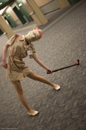 Bubble Head Nurse from Silent Hill 2