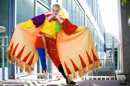 Kefka Palazzo from Final Fantasy VI worn by Teca
