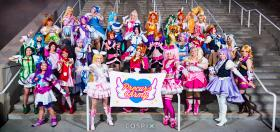 Cure Fortune from Happiness Charge Precure worn by Teca