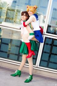 Sailor Jupiter from Sailor Moon (Worn by Teca)