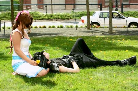 Aeris / Aerith Gainsborough from Final Fantasy VII: Crisis Core
