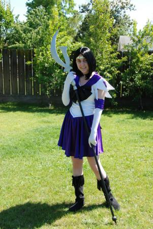 Sailor Saturn from Sailor Moon worn by Kitashi