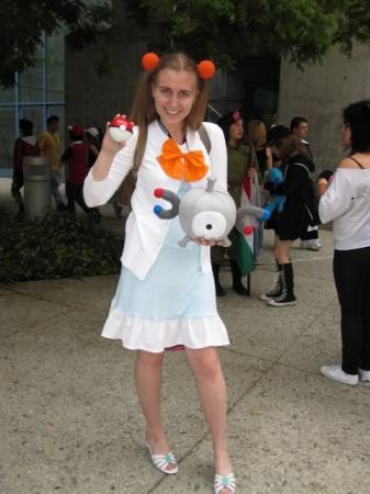 Jasmine / Mikan from Pokemon worn by Kitashi