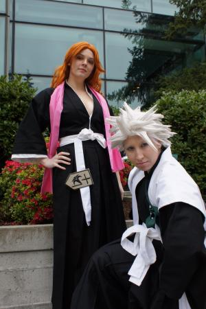 Toushiro Hitsugaya from Bleach worn by Uvi Bee