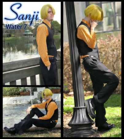 Sanji from One Piece worn by Brian