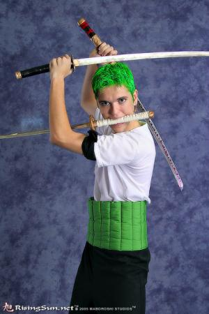 Roronoa Zoro from One Piece worn by Brian