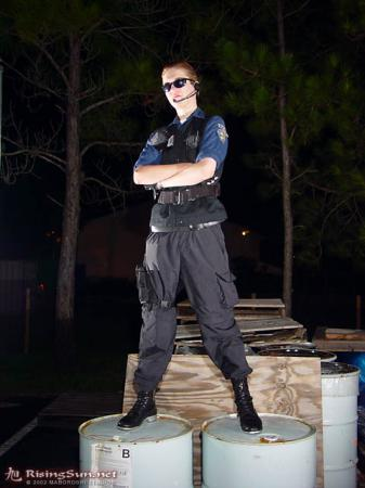 Albert Wesker from Resident Evil worn by Brian