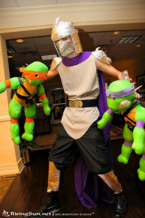 Shredder from Teenage Mutant Ninja Turtles worn by Brian