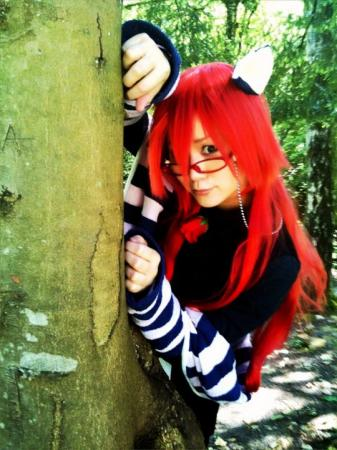 Grell Sutcliff from Black Butler worn by Gaily