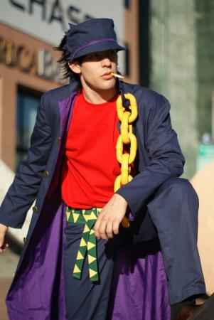 Jotaro Kujo from Jojo's Bizarre Adventure