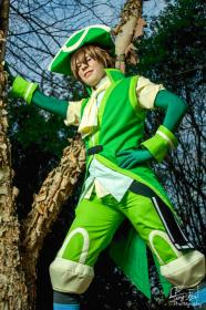 Silabus from .hack//LINK worn by 4ng31