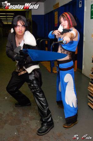 Squall Leonheart from Final Fantasy Dissidia