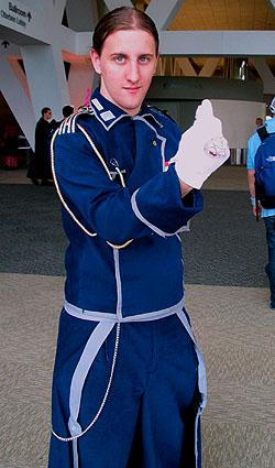 Military Uniform worn by Oshi