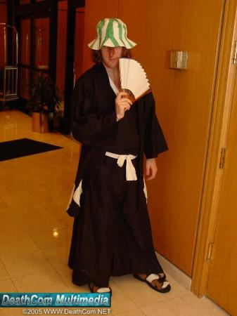 Kisuke Urahara from Bleach 