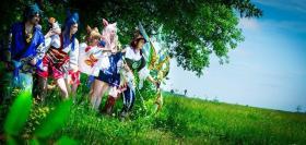 Miqo'te from Final Fantasy XIV  by Oshi