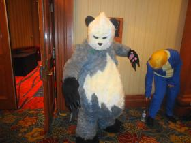 Pangoro from Pokemon worn by Oshi