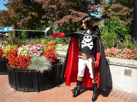 Captain Harlock from Captain Harlock worn by KogaSan24