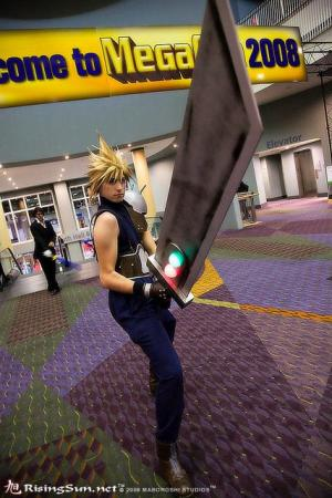 Cloud Strife from Final Fantasy VII worn by Himura
