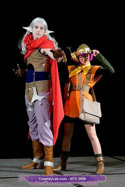 Magus Zeal from Chrono Trigger worn by Himura