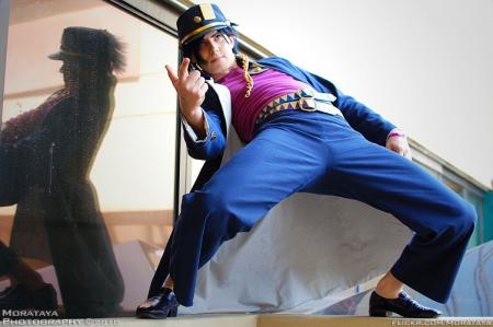 Jotaro Kujo from Jojo's Bizarre Adventure worn by Himura