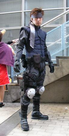 Solid Snake from Metal Gear Solid worn by JIRO