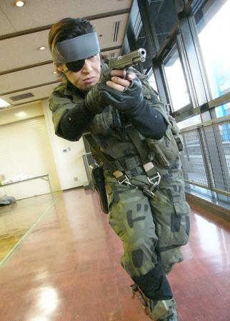 Naked Snake from Metal Gear Solid 3: Snake Eater worn by JIRO
