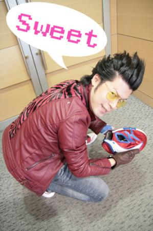 Travis Touchdown from No More Heroes worn by JIRO