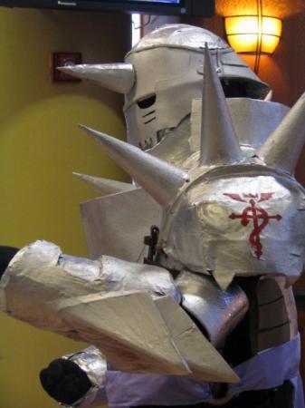 Alphonse Elric from Fullmetal Alchemist worn by Zoroko