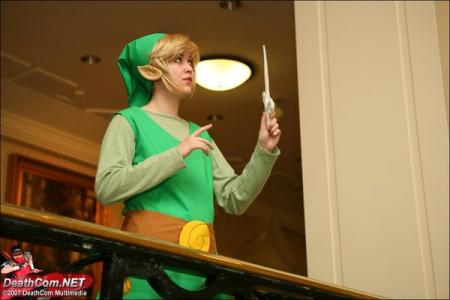 Link from Legend of Zelda: The Wind Waker worn by Zoroko