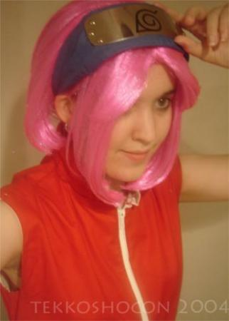 Sakura Haruno from Naruto worn by Zoroko