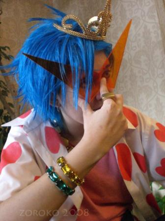 Kamina from Tengen Toppa Gurren-Lagann worn by Zoroko