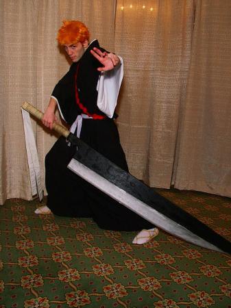 Ichigo Kurosaki from Bleach (Worn by Dymatrex)