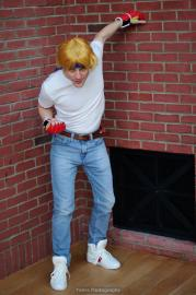 Axel Stone from Streets of Rage 2 worn by Dymatrex