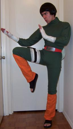Rock Lee from Naruto worn by EMP_Maniac