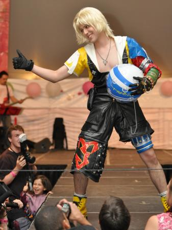Tidus from Final Fantasy X worn by EMP_Maniac