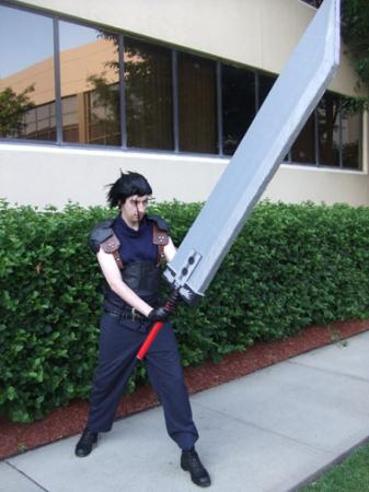 Zack Fair from Final Fantasy VII: Crisis Core