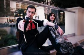 Booker DeWitt from Bioshock Infinite  by The_AnarCHris