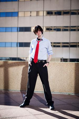 Ryoji Kaji from Neon Genesis Evangelion worn by The_AnarCHris