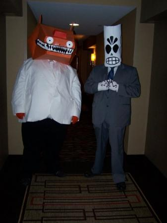 Manuel (Manny) Calavera from Grim Fandango worn by GreatSG