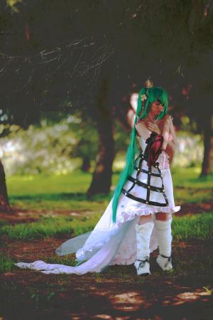 Hatsune Miku from Vocaloid 2 worn by sakusakus
