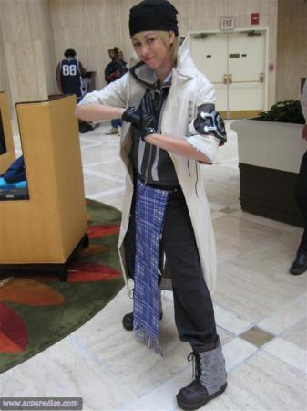 Snow Villiers from Final Fantasy XIII (Worn by sakusakus)