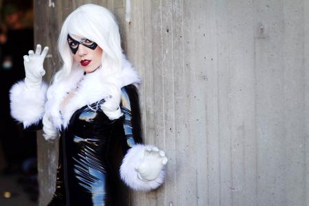 Black Cat from Spider-man worn by Julibean