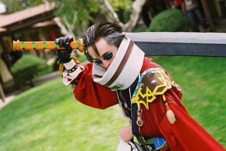 Auron from Final Fantasy X worn by state_alchemist