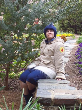 Hinata Hyuuga from Naruto worn by Tasogare-Taichou