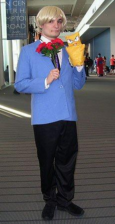 Tamaki Suoh from Ouran High School Host Club worn by Shining Seiya