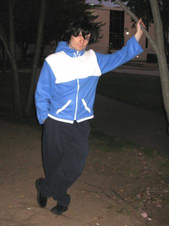 Saito Hiraga from Zero no Tsukaima worn by Shining Seiya