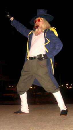 Jango from One Piece worn by Shining Seiya