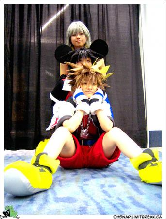 Sora from Kingdom Hearts worn by phi