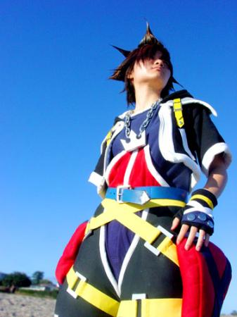 Sora from Kingdom Hearts 2 worn by phi